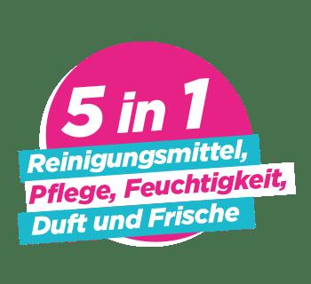 5 in 1 Reinigungsmittel